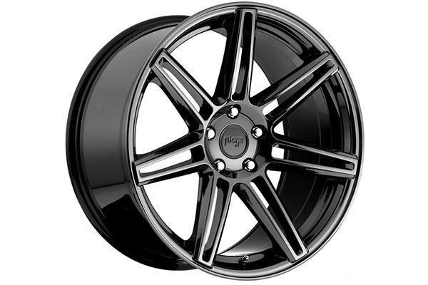 niche lucerne wheels gloss black sample