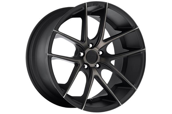 niche targa wheels matte black sample