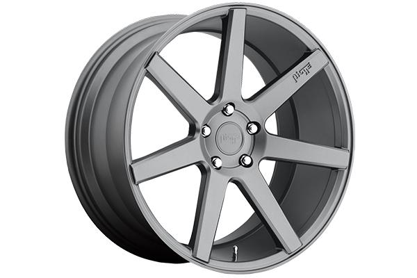 niche verona wheels matte gunmetal sample