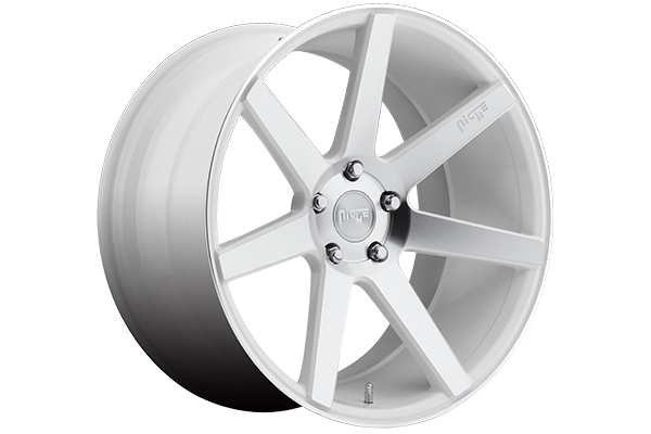 niche verona wheels white machined sample
