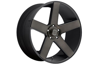 dub baller wheels black machined accents sample