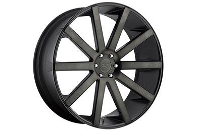 dub shot calla wheels black machined sample