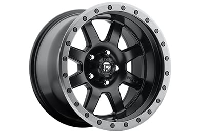 fuel trophy wheels matte black sample