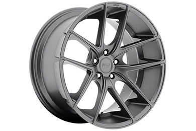 niche targa wheels matte gunmetal sample