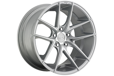 niche targa wheels silver with machined face sample