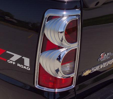 putco chrome taillight cover 400807