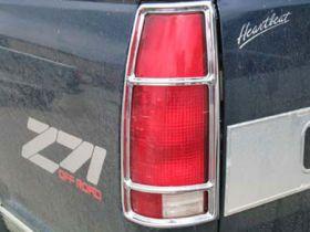 putco chrome taillight cover 400801