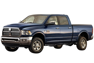 Dodge Ram RBP RX-1 Round Step Nerf Bars