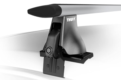 thule aeroblade standard naked roof sample