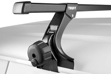 thule square bar base rack system gutter sample