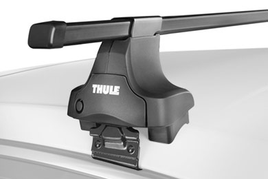 thule square bar base rack system naked roof sample