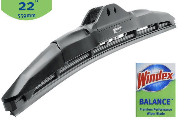 windex balance wiper blades 22