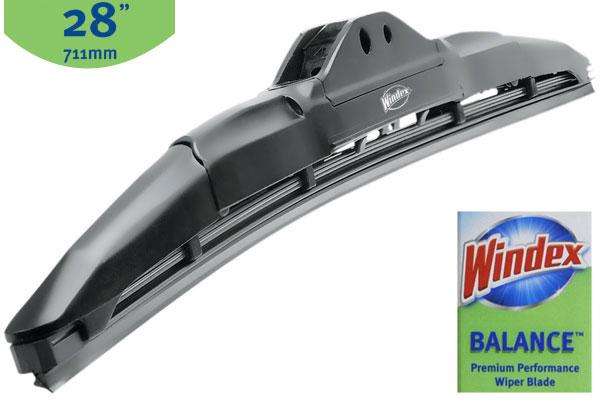 Windex Wiper Blades >> Windex WDXH28 - Windex Balance Wiper Blades - FREE SHIPPING!