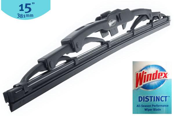 windex distinct wiper blades 15