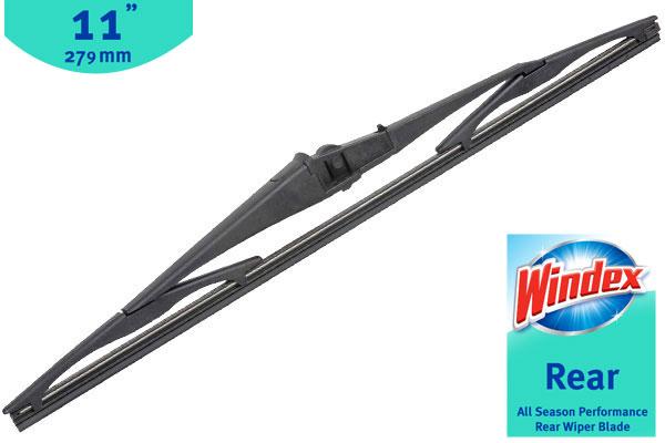Windex Wiper Blades >> Windex WDXREAR11 - Windex Rear Wiper Blade - FREE SHIPPING!