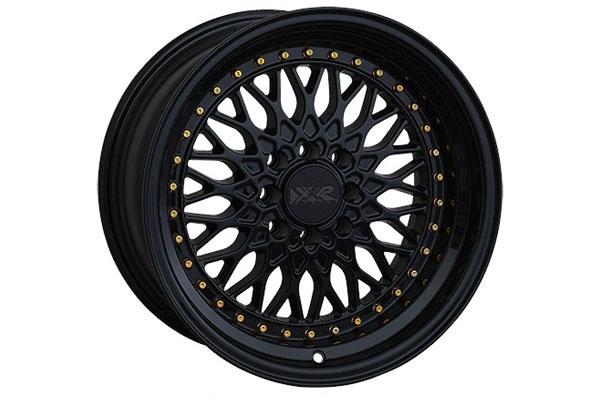 xxr wheels 536 black gold rivets sample
