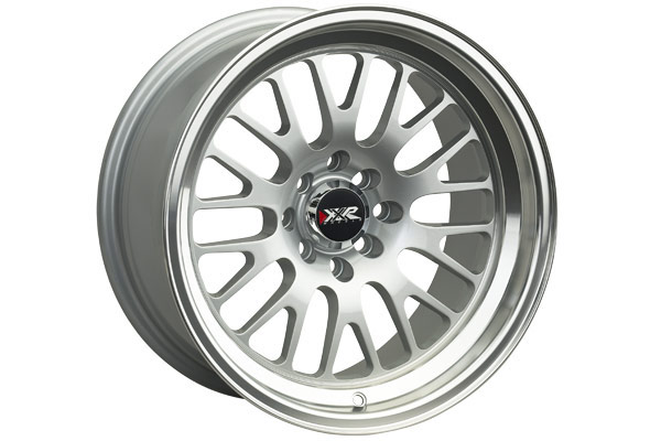 xxr 531 wheels hyper silver with machined lip sample
