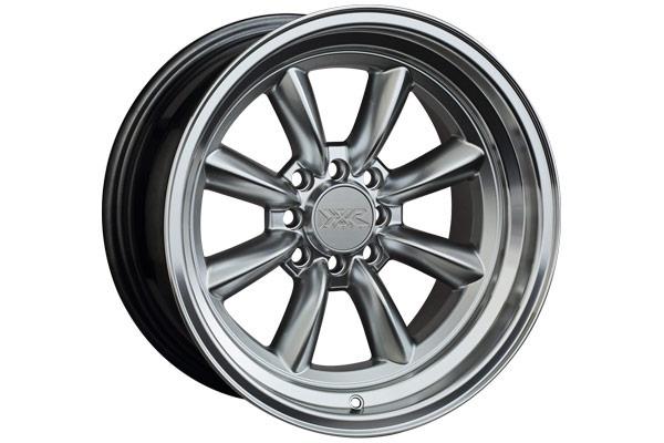xxr 537 wheels hyper silver machined lip sample