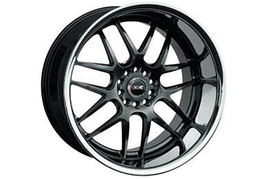 xxr 526 wheels chromium black with chrome lip sample