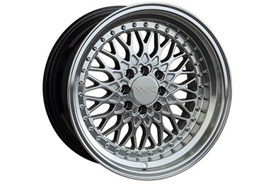 xxr 536 wheels hyper silver with machined lip sample