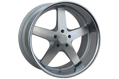 xxr 968 wheels machined with chrome lip sample