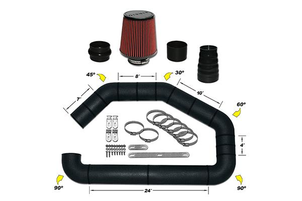AirAid U-Build-It Universal Intake Kits 101-302 Master Intake Kit 7273-3841965