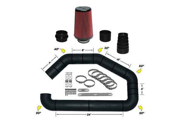 AirAid U-Build-It Universal Intake Kits 101-351 Master Intake Kit 7273-3841968