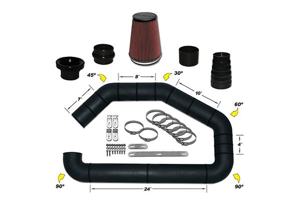 AirAid U-Build-It Universal Intake Kits 101-400 Master Intake Kit 7273-3841971