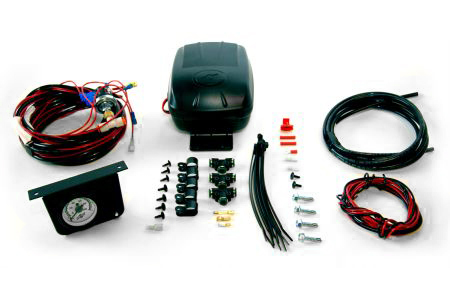 Air Lift Load Controller II, Air Lift Load Controller II - Single Gauge System