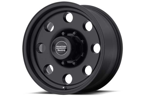 america  racing ar172 baja wheels 8 lug satin black sample