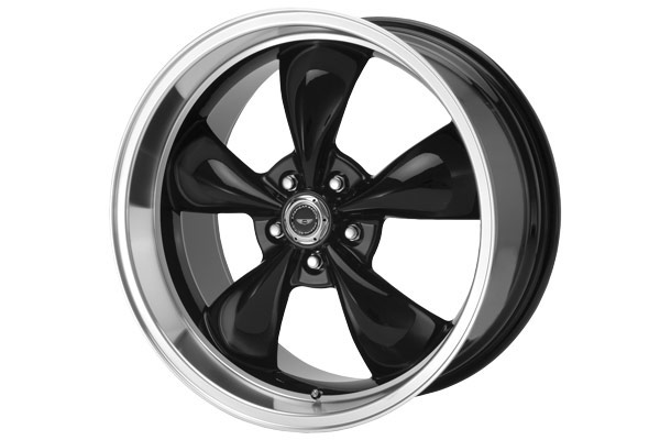 american racing torq thrust m wheels gloss black sample