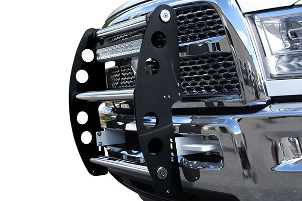 ami swing step grille guard gloss black polished sample