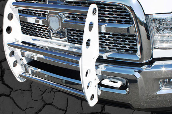 ami swing step grille guard white polished sample