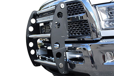 ami swing step grille guard flat black sample