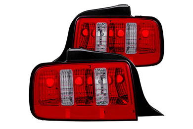 Ford Mustang Anzo USA Euro Tail Lights