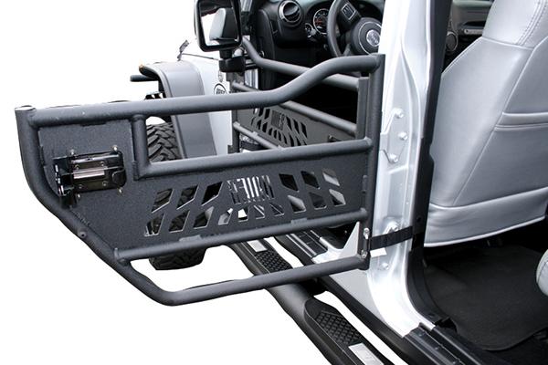 2017 Jeep Wrangler Aries Jeep Tubular Doors, Rear Aluminum Doors