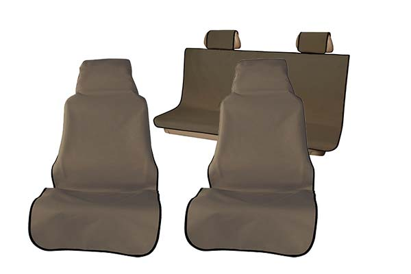 brown buckets w xl bench seat cover sample
