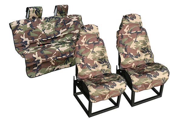 camo buckets w standard bench seat cover sample