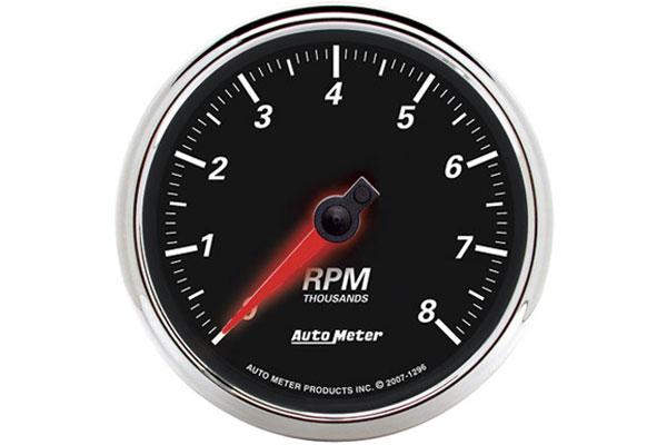 auto meter street rod designer black II 1296