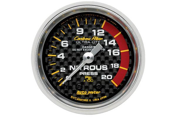 autometer carbon fiber 4728