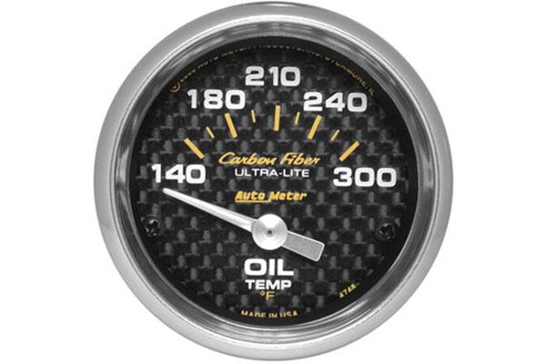 autometer carbon fiber 4748