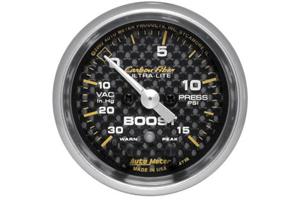 autometer carbon fiber 4776