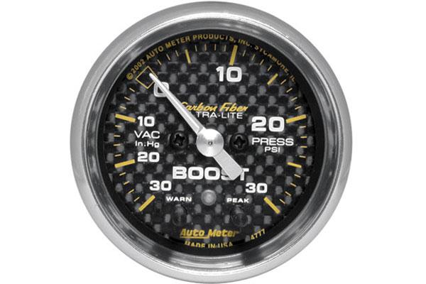autometer carbon fiber 4777