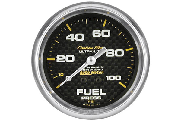 autometer carbon fiber 4811