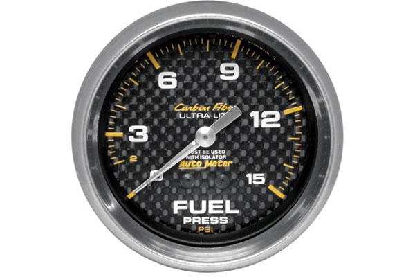 autometer carbon fiber 4813