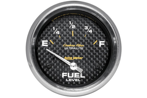 autometer carbon fiber 4816