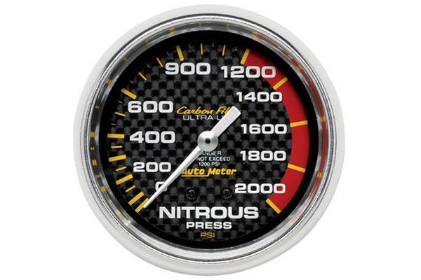 autometer carbon fiber 4828