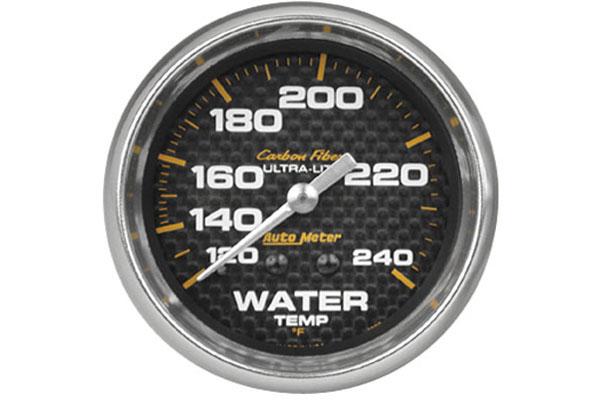 autometer carbon fiber 4832