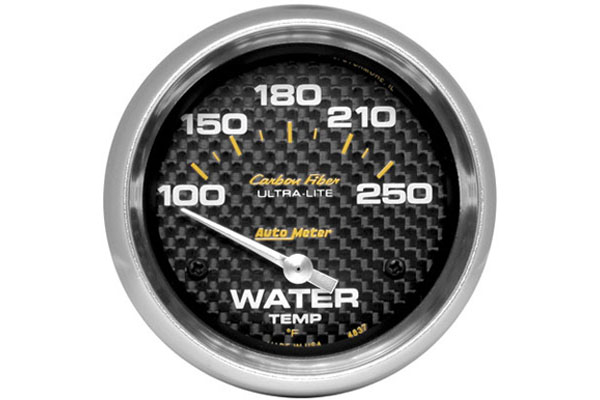 autometer carbon fiber 4837