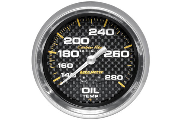 autometer carbon fiber 4841